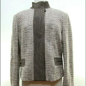Linda Allard Ellen Tracy Size 14 Blazer Jacket